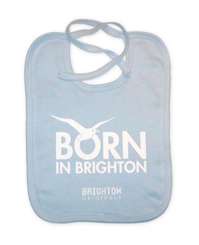 Born In Brighton Brighton and Hove Babies Bib