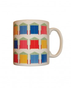 Brighton and Hove Beach Huts Mug