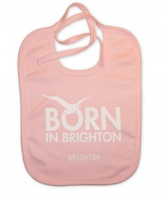 Born In Brighton Brighton and Hove Babies Bib